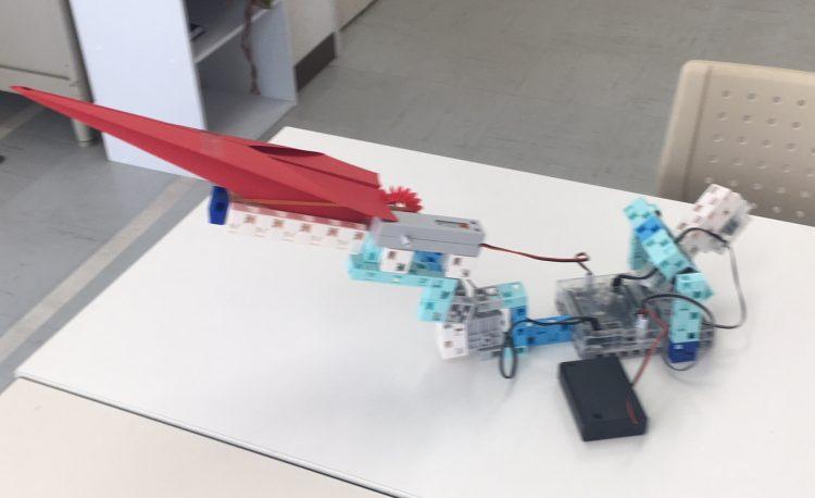 紙飛行機発射台の製作ー後半ー